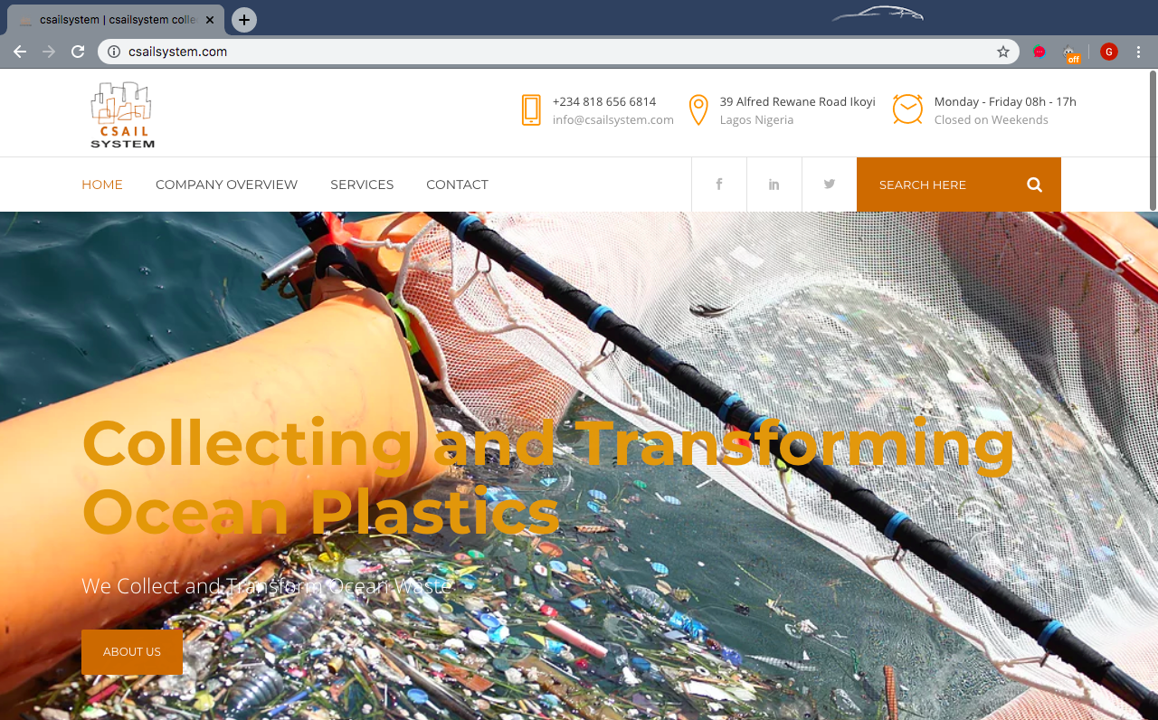 Csailsystem Website